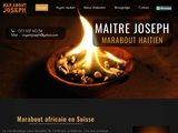 Maitre Joseph marabout africain en Suisse